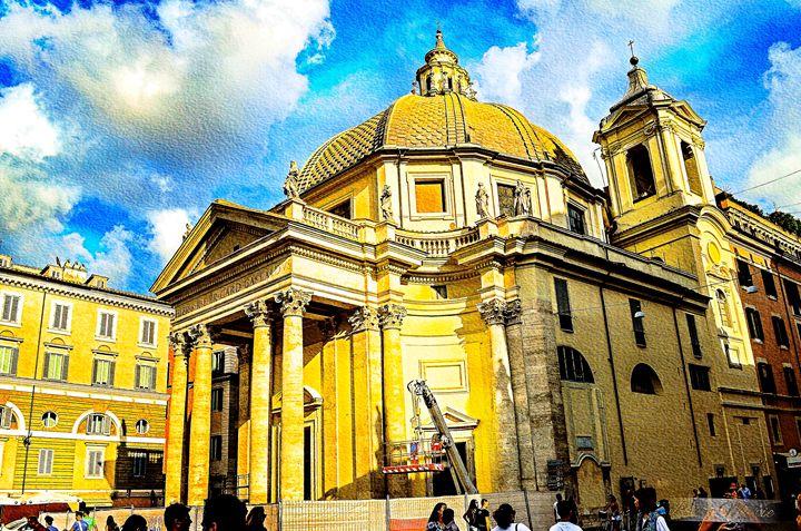 ROMAN BASILICA-ROME, ITALY - Lady Marie