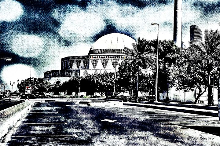 SEASIDE IN ABU DHABI - Lady Marie