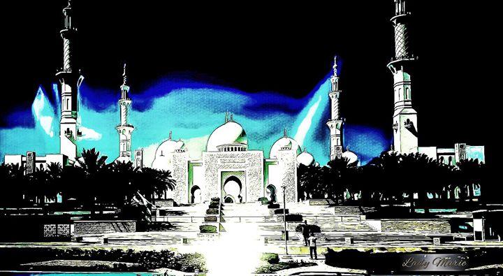 ABU DHABI PRAYER MOSQUE - Lady Marie