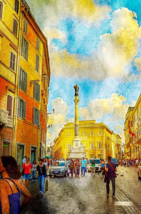 SUNNY DAY IN ROME - Lady Marie
