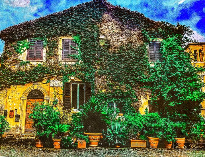 THE COTTAGE BY THE CASTLE - Lady Marie