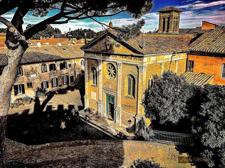 ROOFTOP VIEW OF THE TOWN OF OSTIA - Lady Marie
