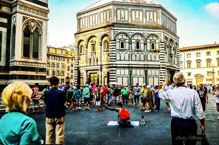 LEARNING THE HISTORY OF FLORENCE - Lady Marie