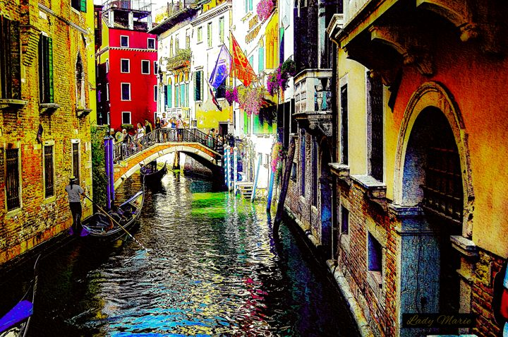 ON THE CANALS OF VENICE - Lady Marie