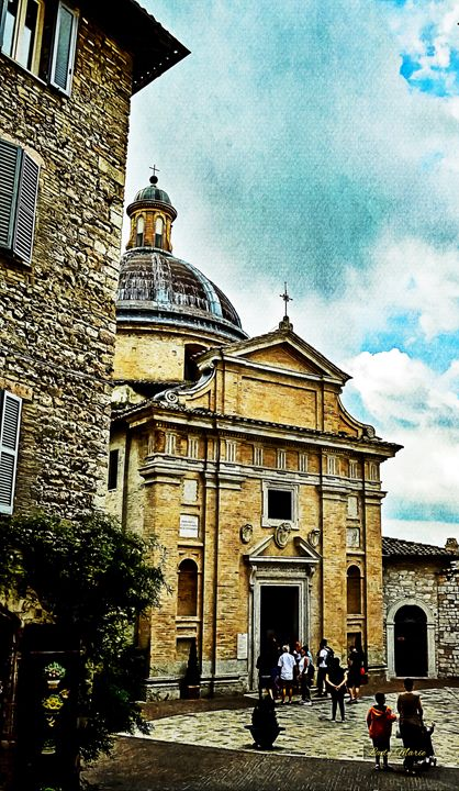 ASSISI, ITALY - Lady Marie
