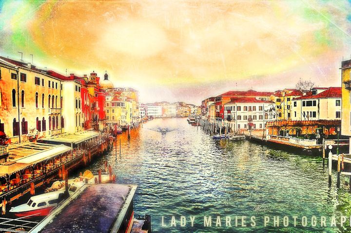 ON THE CANAL-VENICE, ITALY - Lady Marie