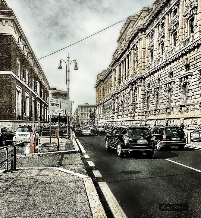 ROME-PRAITI/VATICAN CITY - Lady Marie
