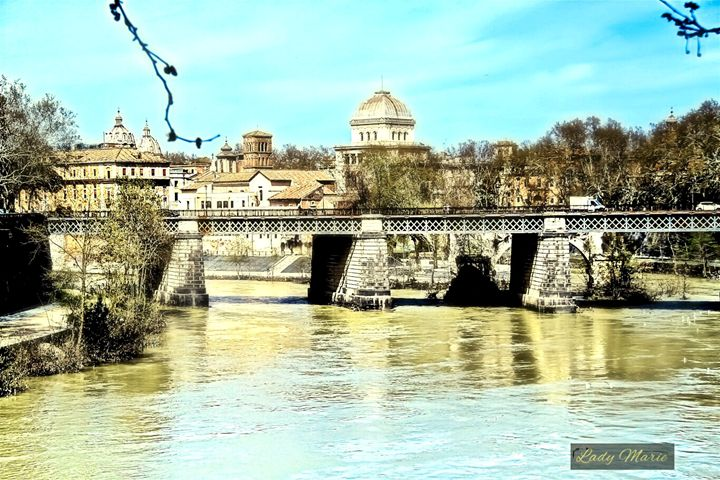 THE TIBER RIVER - Lady Marie