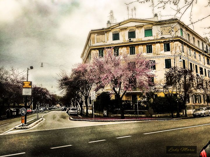 SPRINGTIME IN ROME - Lady Marie