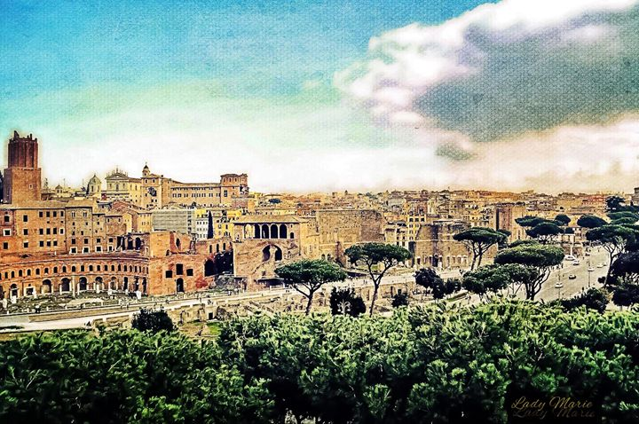 Ancient City of Rome - Lady Marie