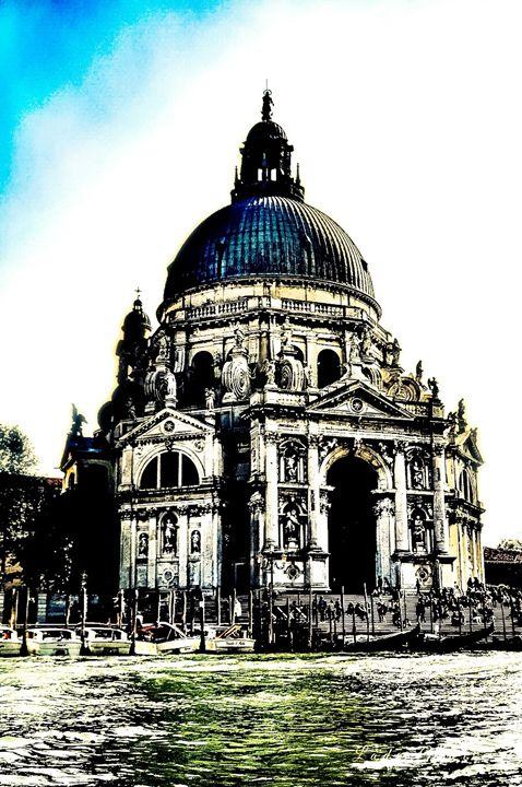 Basilica on the Canal-Venice - Lady Marie