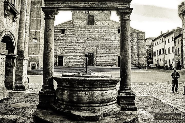 Ancient Wells in the Tuscan Hills - Lady Marie
