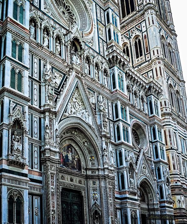 Cathedral Artistry in Florence - Lady Marie