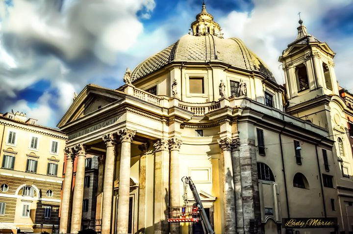 Roman Basilica - Lady Marie