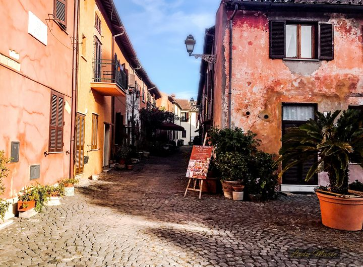 Streets of Ostia Antica - Lady Marie
