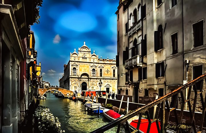 COLORFUL VENICE - Lady Marie