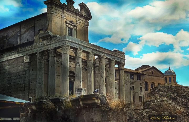 History in Ruins - Lady Marie