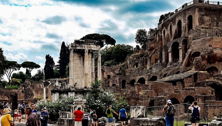 Ancient Roman Temple - Lady Marie