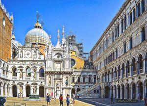 Doge's Palace Venice Italy - Lady Marie