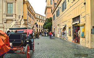 On the Streets Of Rome
