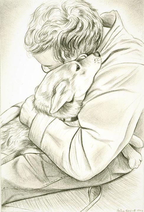 Skylar (Doge Does a Hug) - Larissa Børglum, Artist