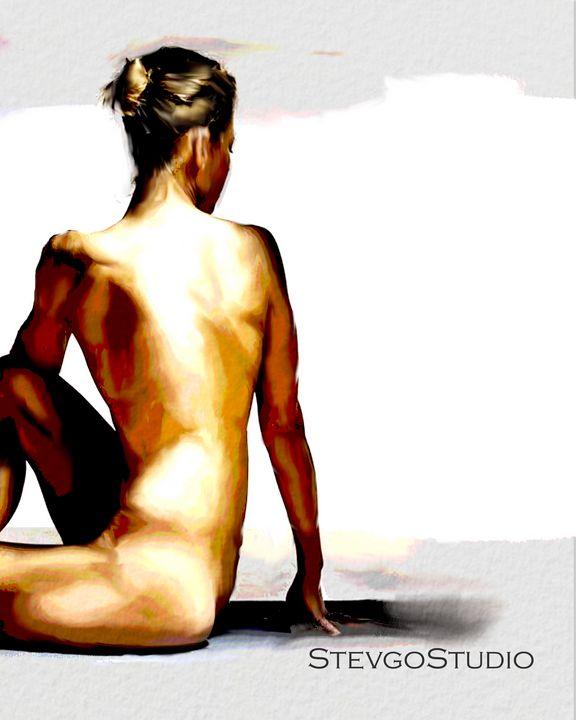 Yoga Nude A1088 - StevgoStudio