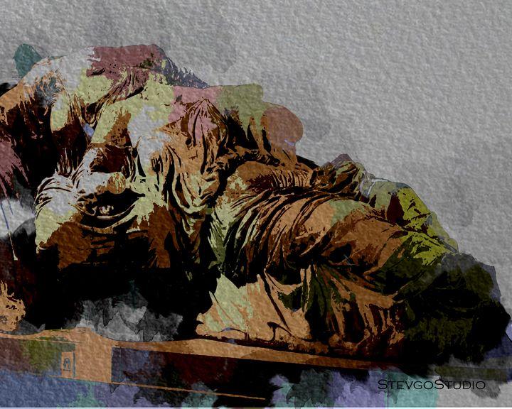 Parthenon Marble A1186 - StevgoStudio