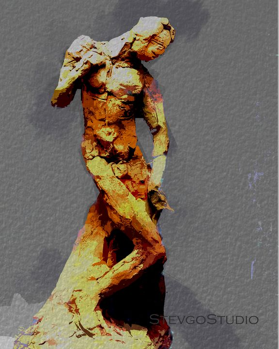 Rodin Clay work A1193 - StevgoStudio