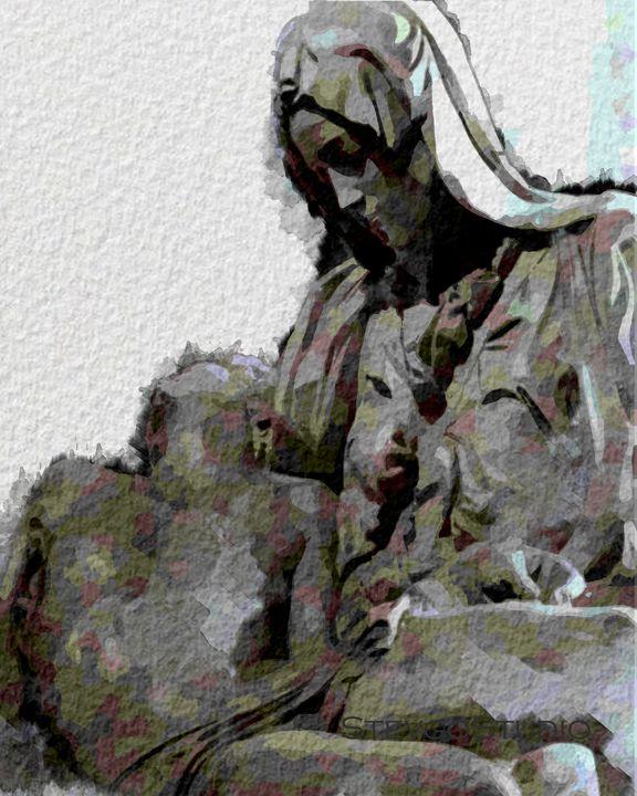 Michelangelo Marble A11107 - StevgoStudio