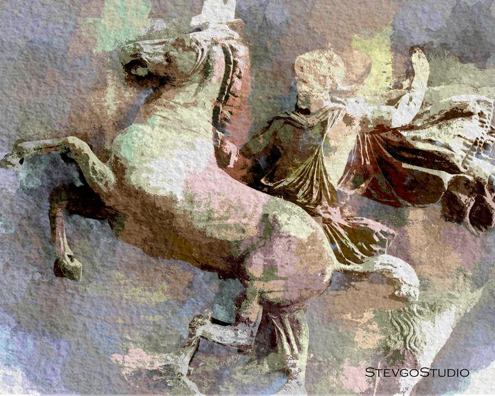 Classical Roman Marble A1114 - StevgoStudio