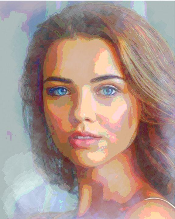Gorgeous Girl - StevgoStudio