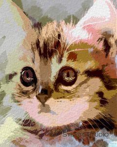 Cute kitten A1288