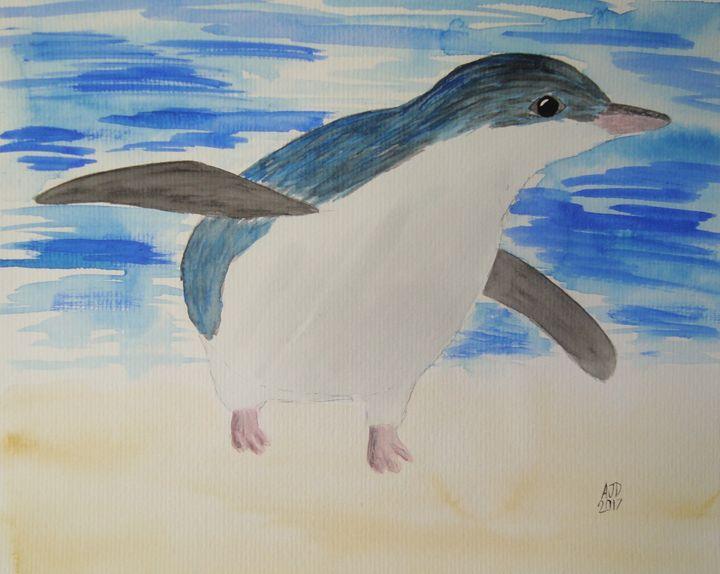 Little blue penguin - Adam Darlingford