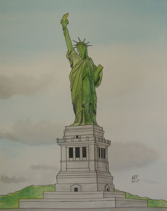 The Statue of Liberty - Adam Darlingford