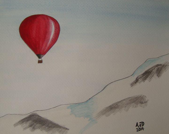 Alpine hot air ballooning - Adam Darlingford