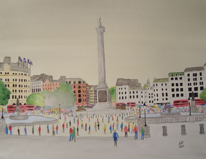 Trafalgar Square, London - Falcon Peak Gallery