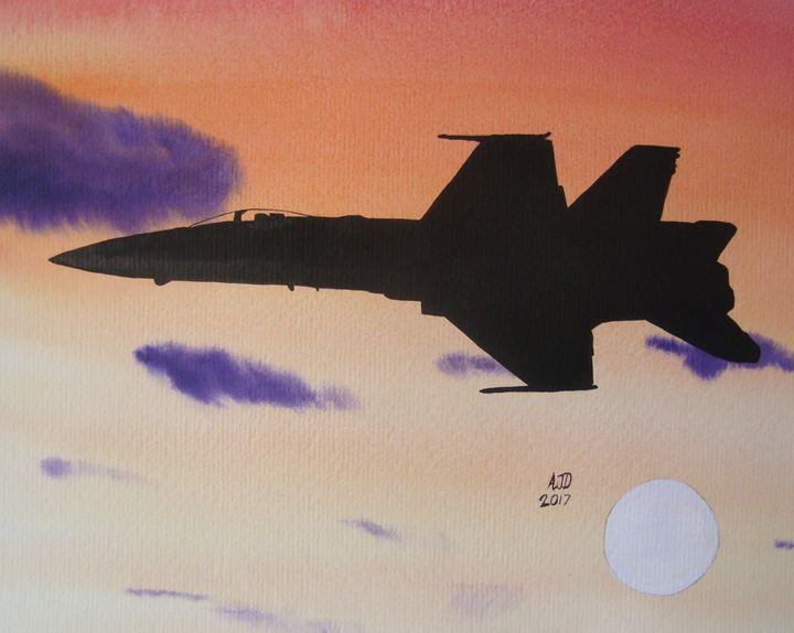 Hornet Sunset - Adam Darlingford