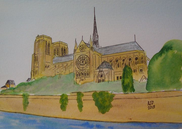 Notre Dame Cathedral - Falcon Peak Gallery