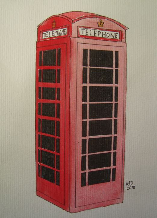 British Telephone Box - Adam Darlingford