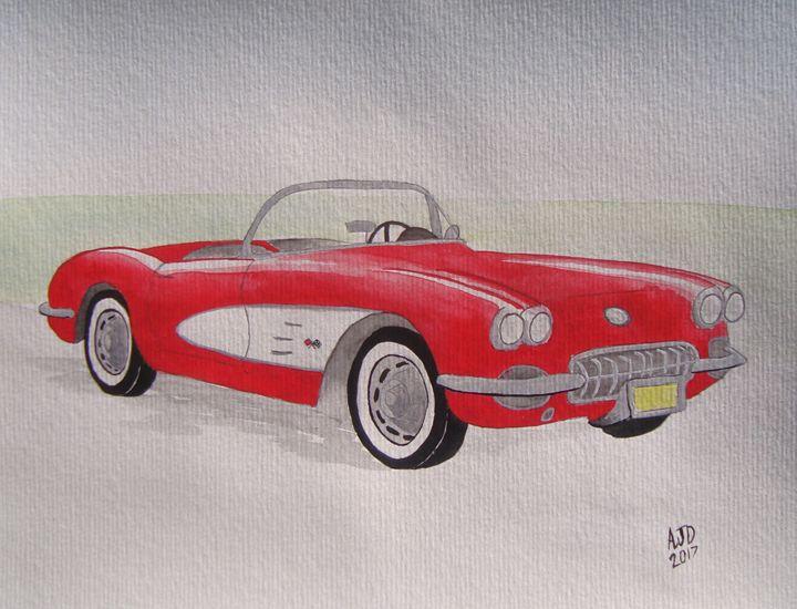 1959 Chevrolet Corvette Roadster - Adam Darlingford