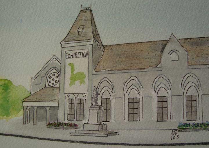 Canterbury Museum - Falcon Peak Gallery