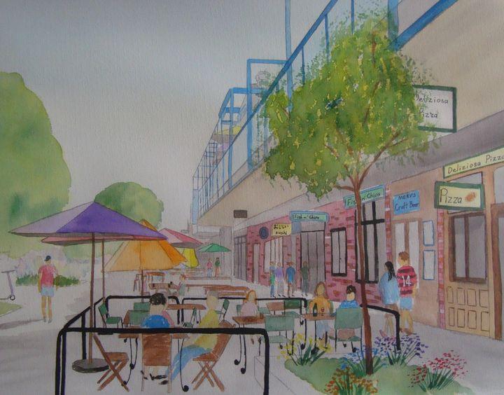 Riverside Market - Falcon Peak Gallery