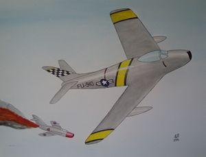 Sabre vs MiG 15