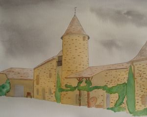 French Vineyard Buildings