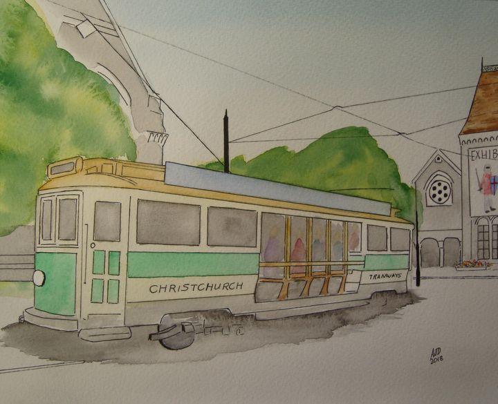 Christchurch tram - Adam Darlingford