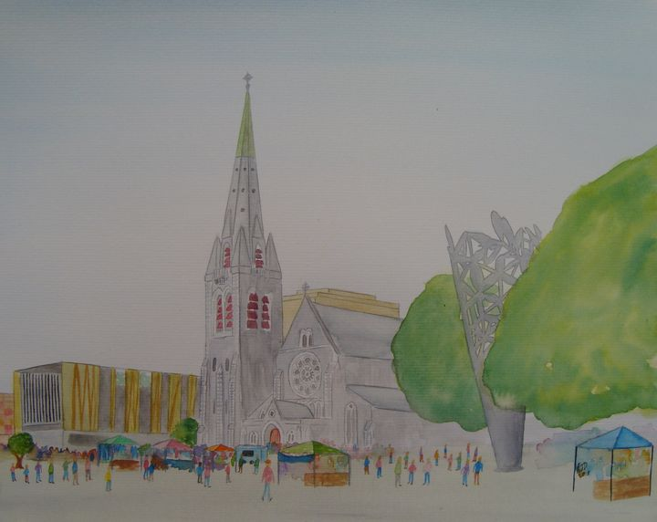 Christ Church Cathedral - Falcon Peak Gallery