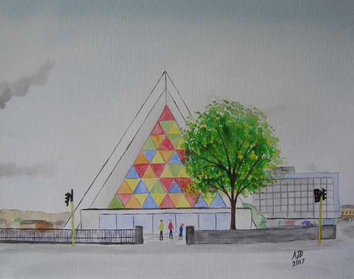 Christchurch Cardboard Cathedral - Adam Darlingford