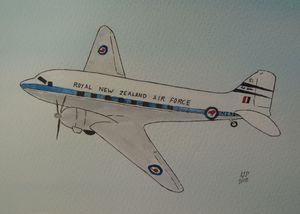 DC 3 - RNZAF