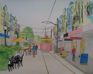 Tram on New Regent Street