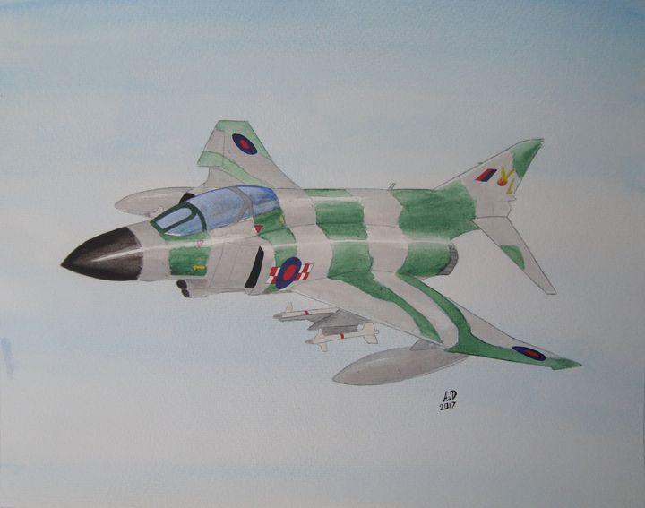 RAF F-4 Phantom Number 56 Squadron - Adam Darlingford